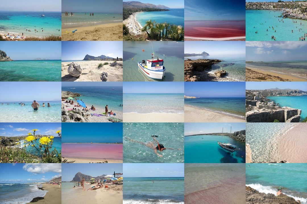 Najpiękniejsze plaże w Trapani i okolicach. The best beaches in Sicily