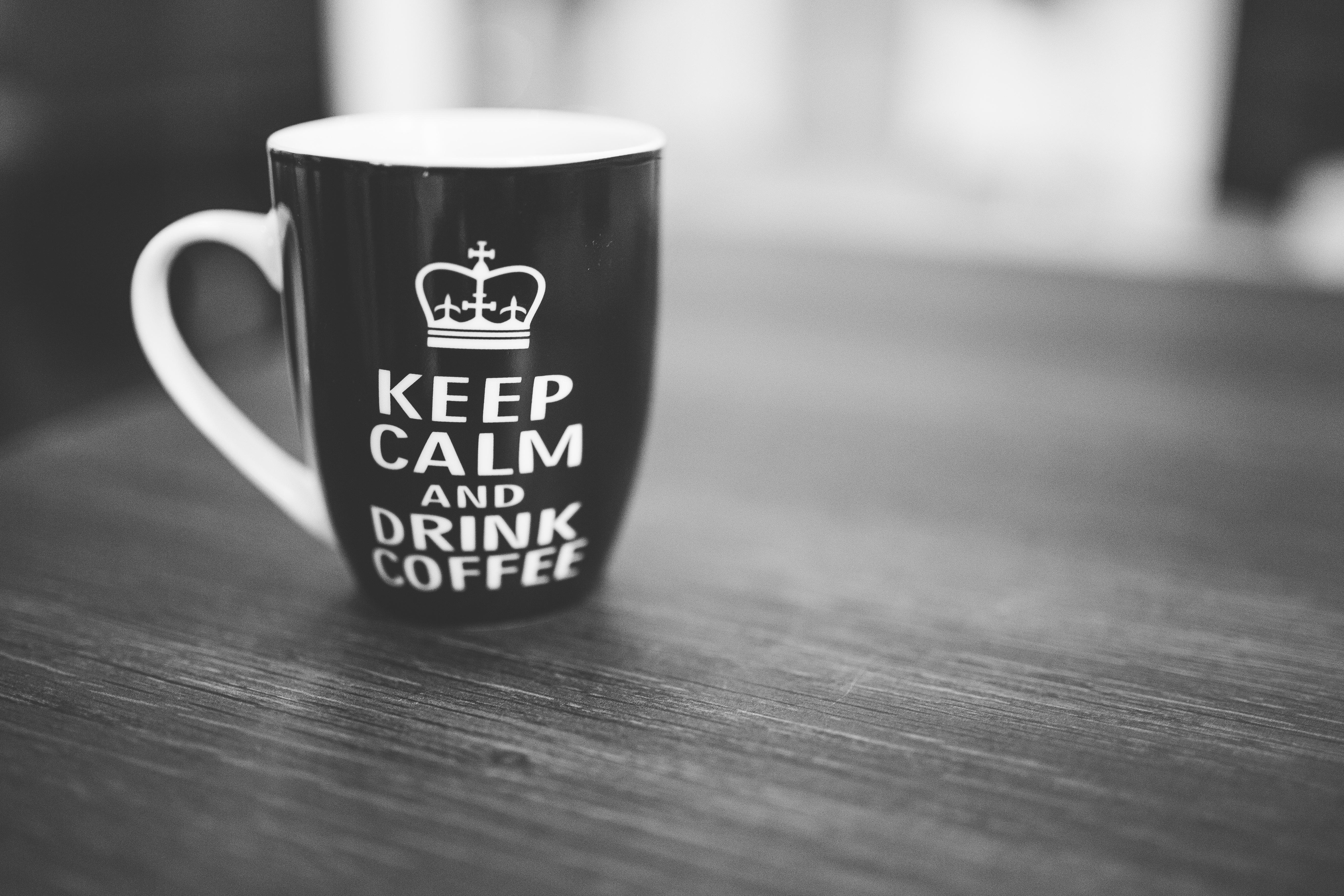 Sycylijska mentalność. Sycylia. Keep calm and drink coffee.