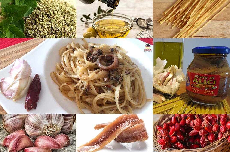 makaron z anchois, spaghetti z anchois, makaron z sardelami, spaghetti z sardelami, pasta con le acciughe, spaghetti con le acciughe, pasta con acciughe, spaghetti con acciughe, szybki przepis na makaron, szybki przepis makaron, szybki makaron, szybki przepis na spaghetti, szybkie spaghetti, makaron po sycylijsku, spaghetti po sycylijsku, szybki obiad, ekspresowe danie, szybkie danie, pomysł na szybki obiad, sycylijski makaron, makaron z sycylii, kuchnia sycylijska, sycylijskie danie, sycylijskie dania, sycylia na talerzu, co to jest anchois
