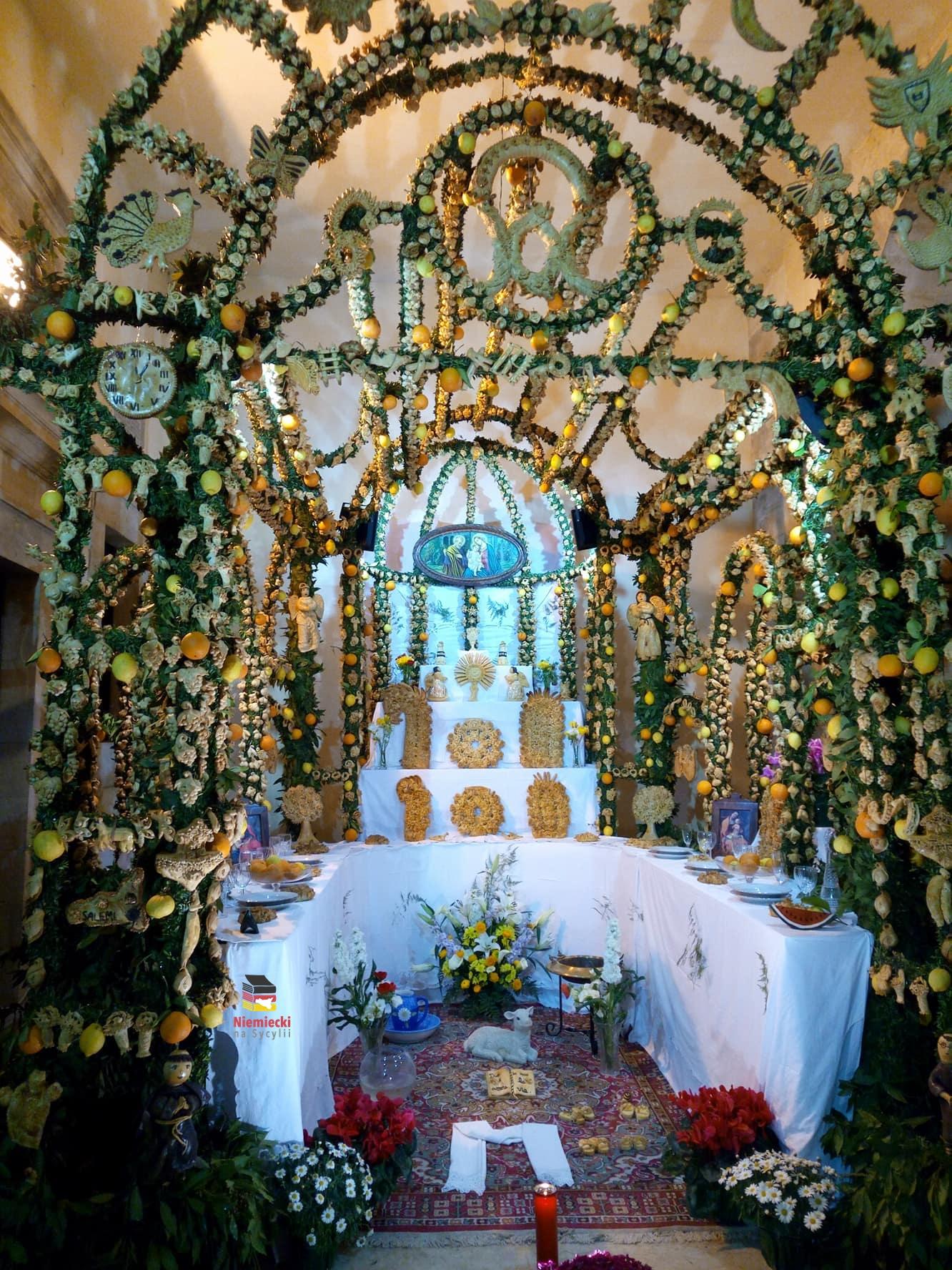Salemi, San Giuseppe, San Giuseppe w Salemi, święty Józef, św. Józef, sycylia, tradycje, sycylijskie tradycje, cene di san giuseppe, ołtarze w salemi, ołtarze, sycylijskie święta, święta na sycylii, tradycje sycylia, tradycje na sycylii, święta sycylia, sagra sycylia, sagra sicilia, zachodnia sycylia, chlebowe dekoracje, dekoracje z chleba, chleb sycylia, sycylijski chleb, chleb na sycylii,