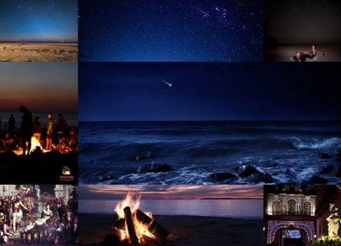 San Lorenzo, Święty Wawrzyniec, noc san lorenzo, noc spadających gwiazd, spadajace gwiazdy, noc św. Wawryzńca, noc świętego Wawrzyńca, spadające gwiazdy nad morzem, 10 sierpien